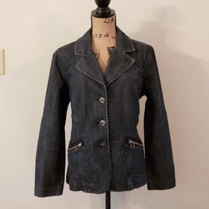 Baccini Denim Jacket size L